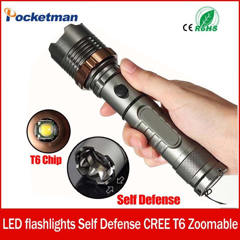 3800lm XM-L T6 5 modes LED Tactique lampe de Poche Torche Étanche Chasse Flash Lumière Lanterne zaklamp taschenlampe torcia zk93