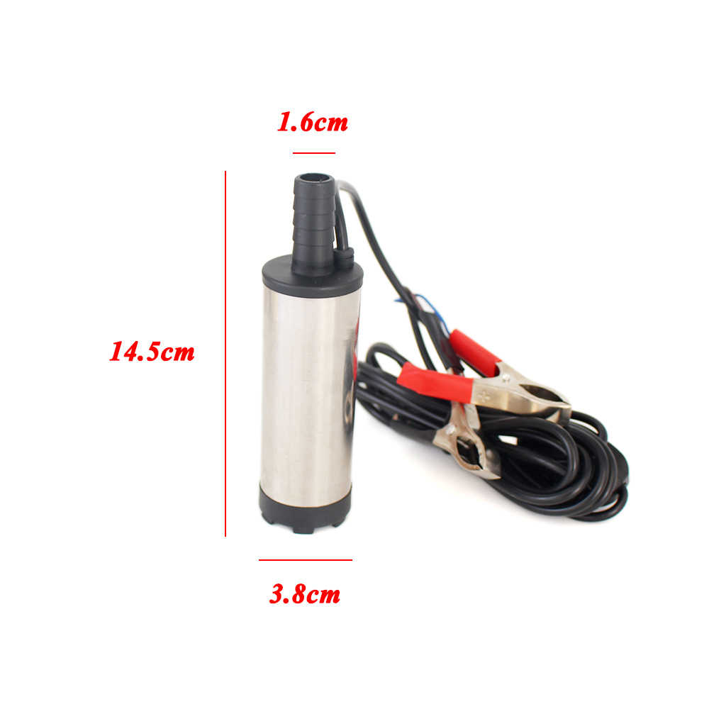 Dc Electric Submersible Pump For Pumping Diesel Oil Water Fuel Transfer Pump