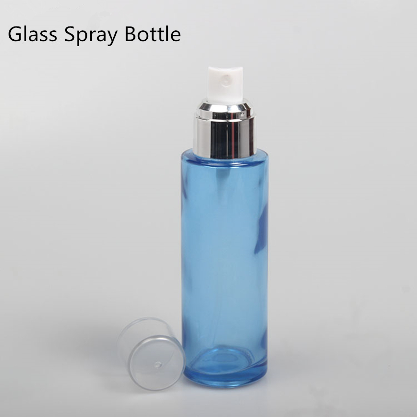 20pc/Lot for 20ml Blue Glass Empty Spray Bottle Perfume Fragrance Spray Glass Bottle 10pcs For 30ML 40ML 60ML 80ML 100ML 120ML glass spray perfume bottle blue 5ml