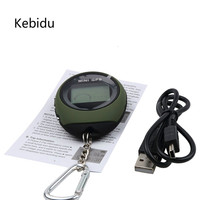 Kebidu Handheld Mini GPS Navigation USB Rechargeable Location Tracker With Compass For Outdoor Travel Climbing