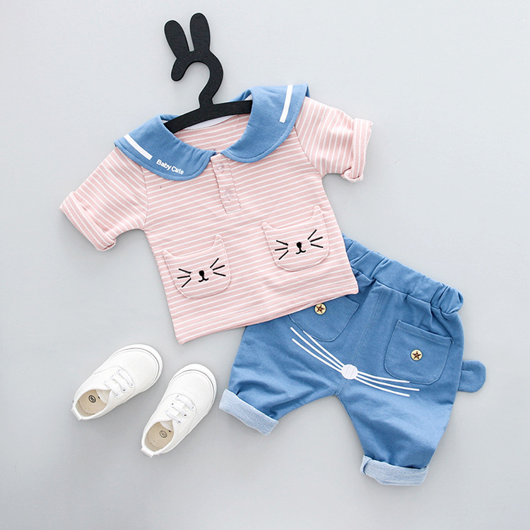 Child Ladies Clothes Outfits Units Style Model Summer time New child Toddler Child Ladies Garments Informal Sports activities Model Printed Tracksuits model women clothes, style woman clothes, women model...