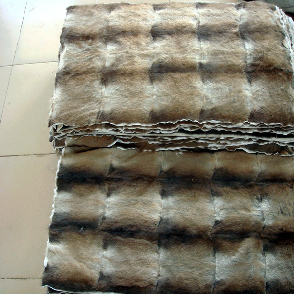 Sable Fur Blanket Real Fur Rug /fur Plate-in Fur From Home