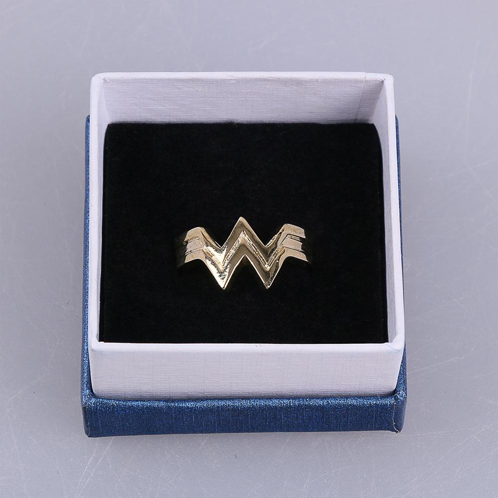 2017 Movie Wonder Woman Superhero Diana Prince Leather Headgear Metal Badge Rings  Cosplay Bronze Crown Band Headgear Woman (8)