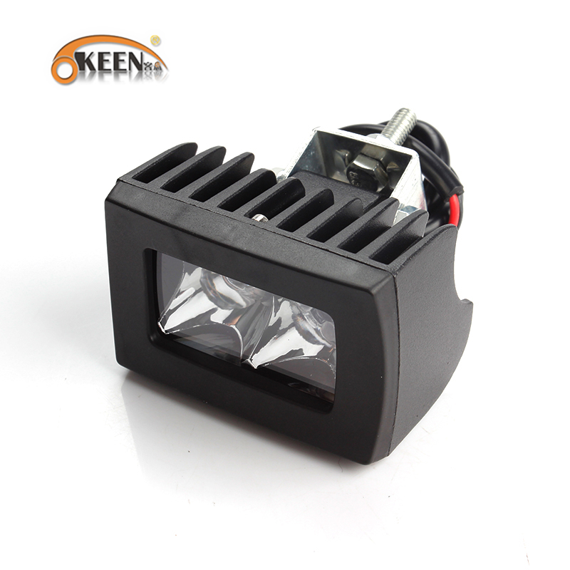 OKEEN 18W 20W 48W LED Work Light Bar Spot Flood For Tractor Boat OffRoad Jeep SUV ATV Boat Truck 4WD 4x4 Truck SUV ATV 12V 24V