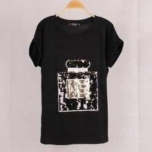 women elastic cotton collar bat short sleeve female black tops tees basic shirts in summer