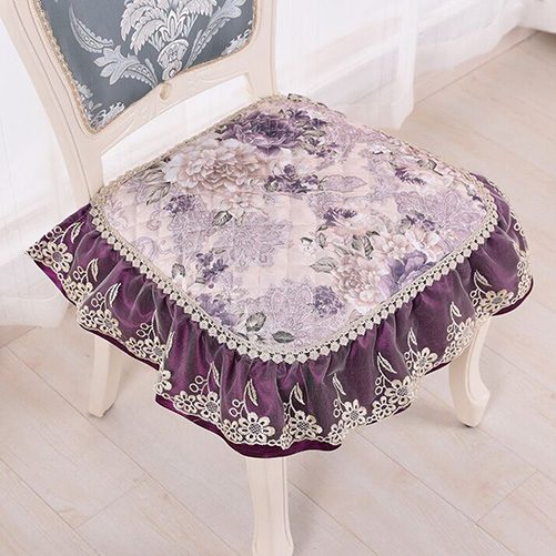 Best Selling Fancy Floral Chair Seat Cushion Pastoral Chair Pads Household Dining Room Supplies Home Textile
