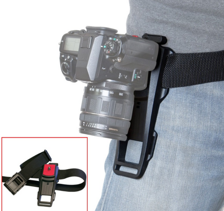 Camera Quick Release Waist Belt hanging Buckle Hanger Holder Plate For Canon Nikon Sony pentax DSLR Camera Camcorders