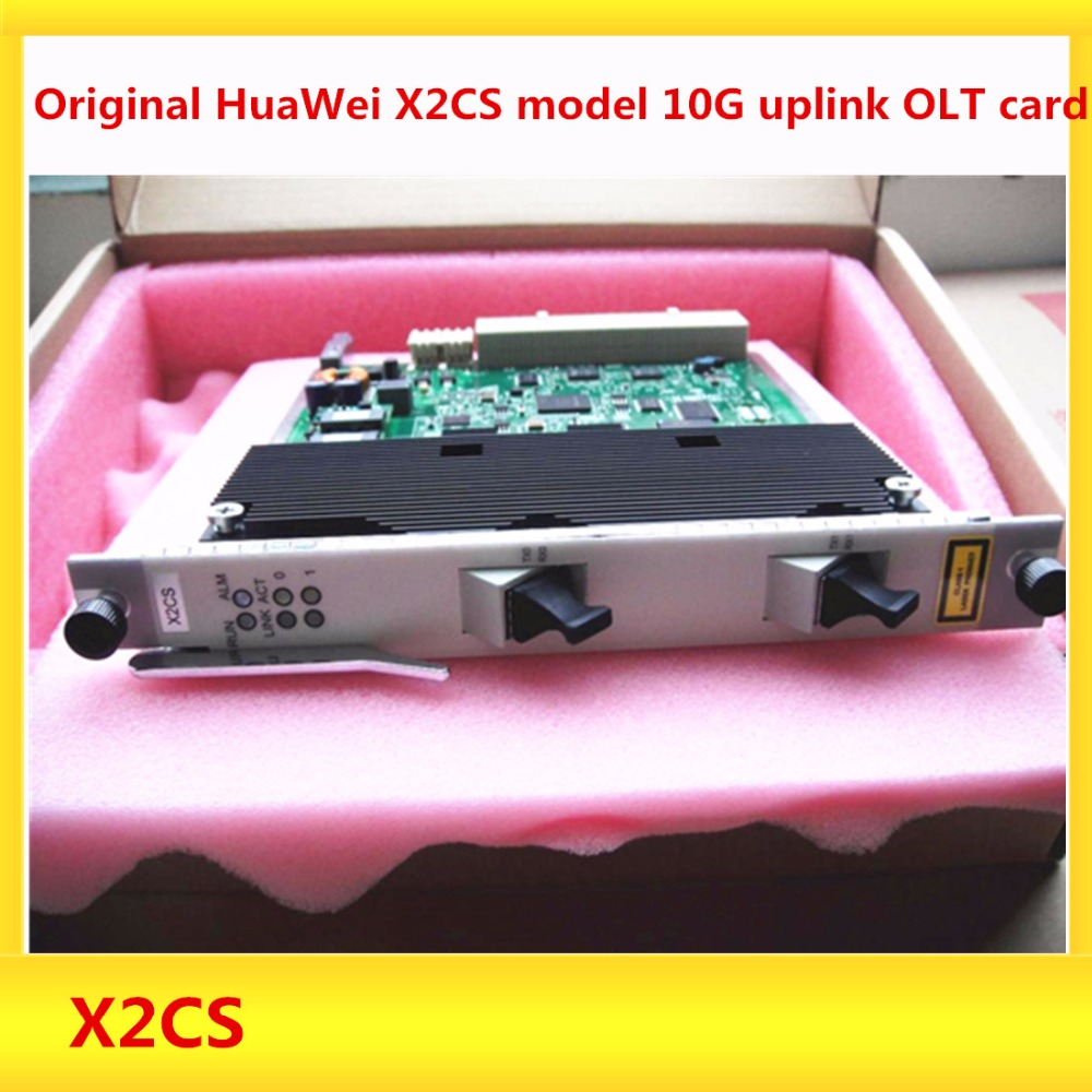 Original HuaWei X2CS model 10G uplink OLT card for Huawei MA5680T MA5683T 5608t OLT including 2