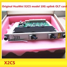 Original HuaWei X2CS model 10G uplink OLT card for Huawei MA5680T ,MA5683T 5608t OLT,including 2 Pieces of 10G uplink module