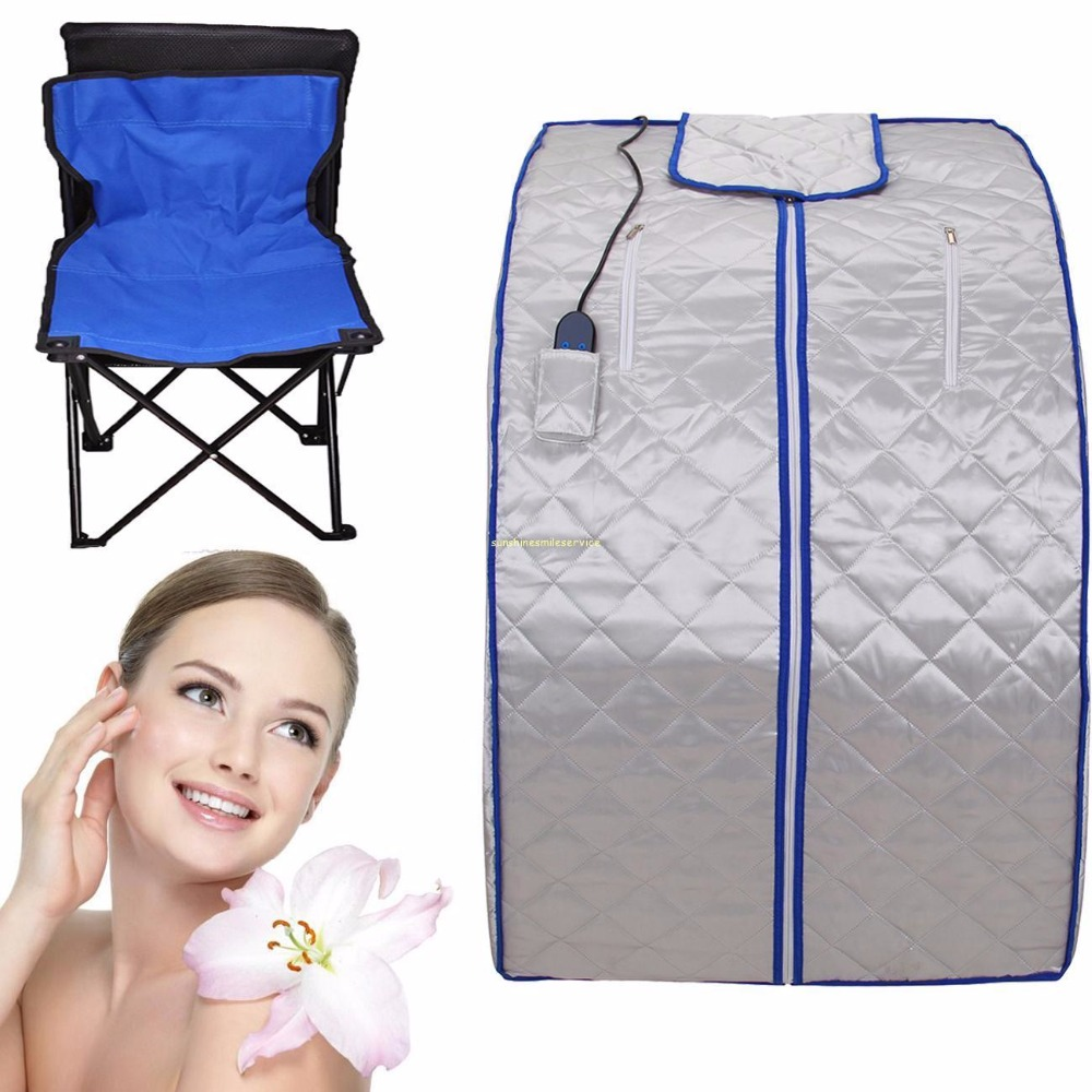 Germany Fast Shipping ! Portable FIR/FAR Infrared Sauna Tent Home Sauna Spa Steam Box Detox Lose Weight Slimming body набор масло levissime home spa body pack