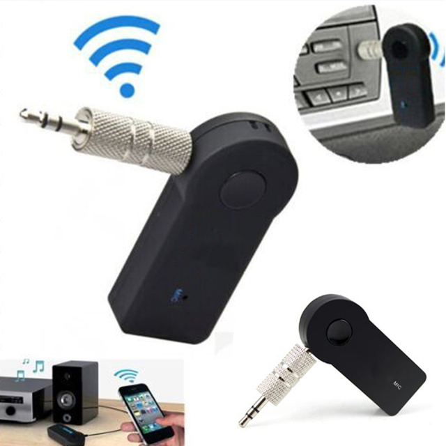 Bluetooth AUX Audio 3.5mm Jack Bluetooth Music Receiver Car Kit Wireless Speaker Headphone Adapter Hands Free Bluetooth Car