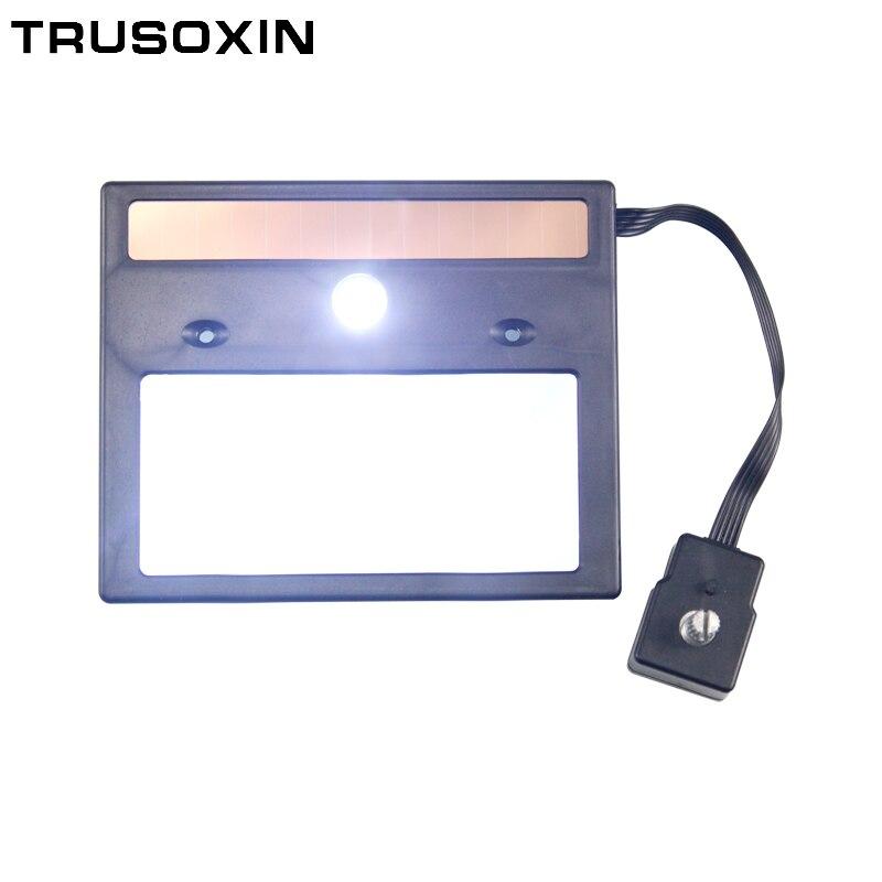 LED Light Solar Auto Darkening Filter Welding/Polish Mask/Helmet/Welder Cap/Welding Lens/Welding Filter