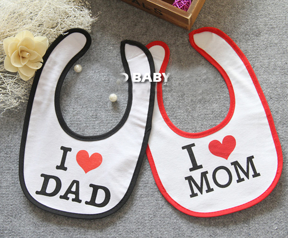 2015 hot cotton Baby bibs Infant embroidered saliv...