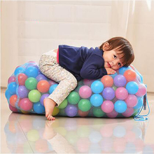 100pcs 5.5cm Colorful Ball Soft Plastic Ocean Funny Baby Kid Swim Pit Toy Water Pool Wave Outdoor Sports