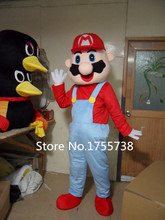 2015 adult beautiful hot Super Mario mascot costumes, makeup, cartoon masquerade