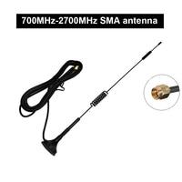 אנטנה עבור לוסיה 1PC 700MHz-2700MHz אנטנה SMA מחט 2G, 3G, אנטנה היניקה 4G עבור HackRF אחת G7-005 (5)