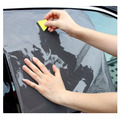 2 Шт. точки сети автомобиля Козырек От Солнца наклейки Статические наклейки
