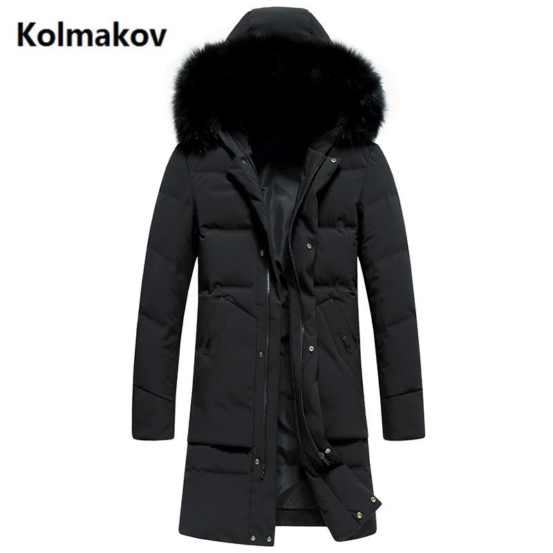 KOLMAKOV 2017 New fashion coats Mens Hooded keep warm thicken 90% White duck down Down Coats jacket Mens Winter jackets