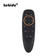 Kebidu Mini Fly G10 Gyro Stimme Air Maus G20S 2,4 GHz Drahtlose Mikrofon Fernbedienung IR Lernen für Android TV box PC