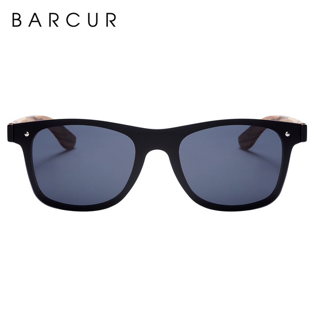 BARCUR Luxury Vintage Wooden Sunglasses  2