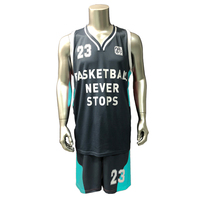 Basketball Jersey 2017 New Basketball Suit Sports Suit Children'S Wear Blank Basketball Clothing Speed Dry Training Clothing