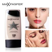 MAXFASFERX Face Liquid Foundation Makeup Base BB Cream Conce