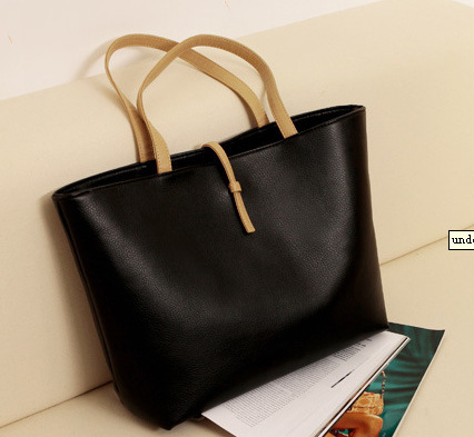 185f5d9a66c7 Hot Selling Women Simple Designer Shoulder Bag Vintage Korean Simple Style  Ladies Leather Handbags Tote Big Bags with Coin Purse