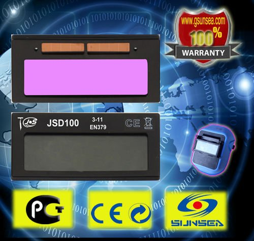 Automatic darkening welding mask LCD Filters , tig mig welding helmet LCD Filters