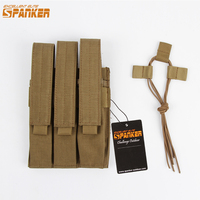 EXCELLENT ELITE SPANKER Outdoor Tactical Hunting Magazine Pouch Three Magazine Clip Bag Military Accessories Triple Bags