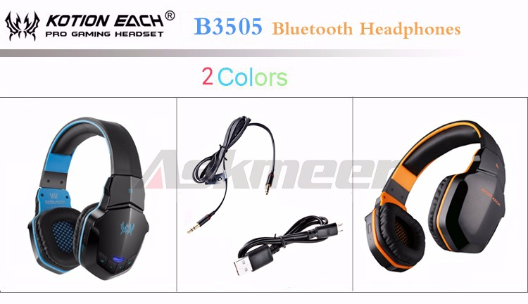 EACH B3505 Wrieless Bluetooth 4.1 Stereo Headphone Headband Earphone Headset with Mic for iPhone 6iPhone6 Plus Samsung (1)