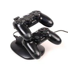 Soporte de carga PS4/PS4 Slim/PS4 Pro cargador PS4 soporte de estación de carga para PlayStation 4