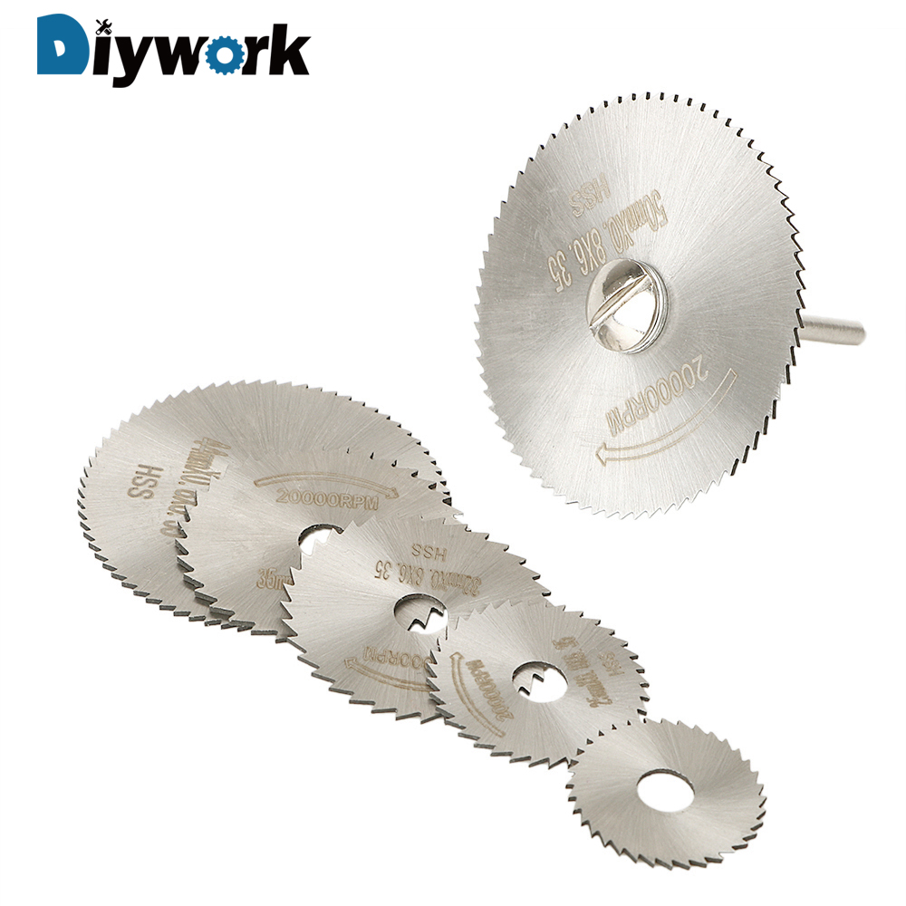 DIYWORK 22mm 25mm 32mm 35mm 44mm 50mm With Rod Carpentry Saw For Electric Drill Small Cutting Chip High Speed Steel