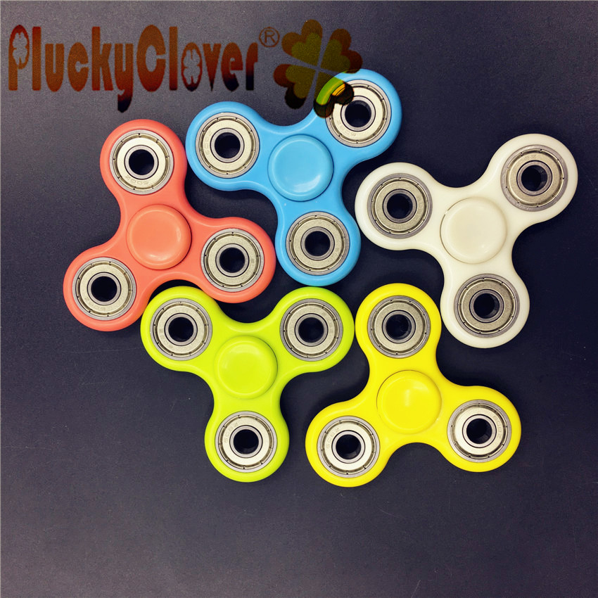 1 pc Colorido Triângulo Fidget Spinners Spinning Top Spinner