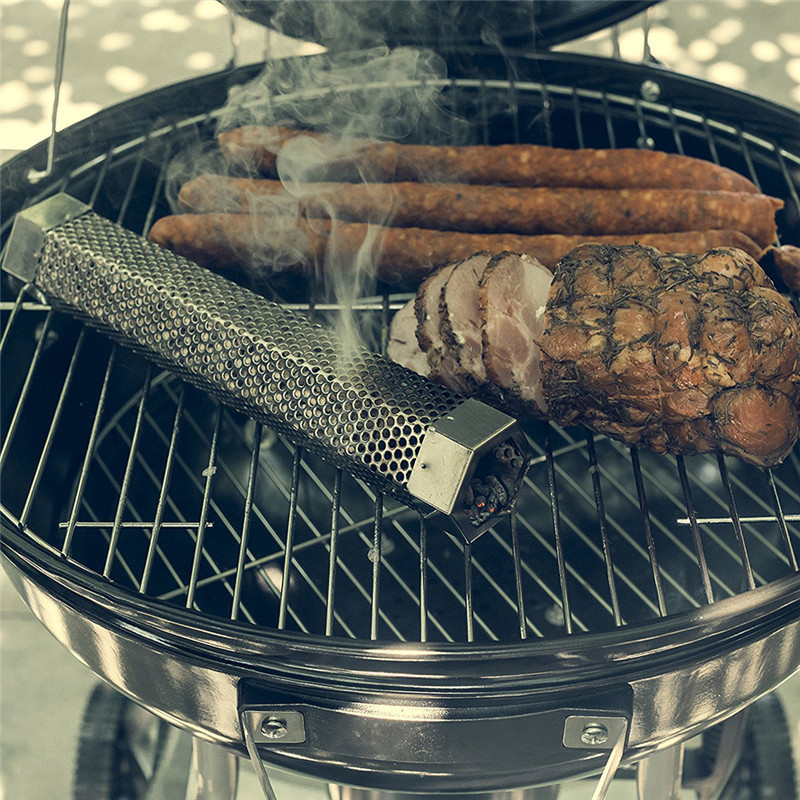 ANTS STRONG Hexagonal barbecue smoke generator/stainless