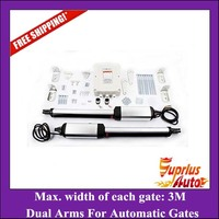 Stock Clearance ! Free Shipping Stainless steel IP66 300kgs per leaf Swing gate operator Dual swing gate opener kit