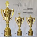 2017 new style Gold Plated Metal Trophy Winners Cup  champion league trophy     sport  award  43CM   souvenir