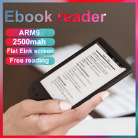 Original BK6025M ebook reader 6 8G eink touch screen 2500mAh pocket books gift pu cover