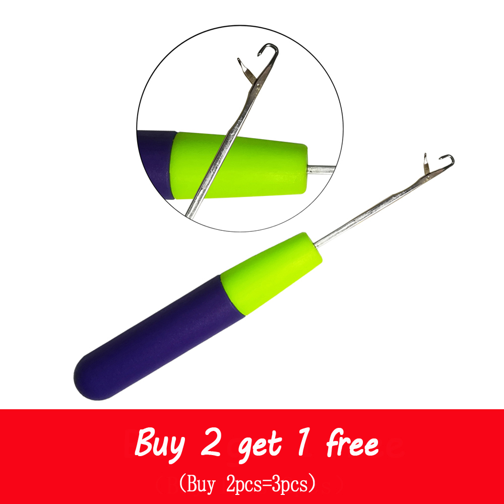 1pcs Hook Crochet Needle For Synthetic Hair Extension Tool And Making Jumbo Senegalese Twist Micro Braids Wigs Buy 2 get 1 free