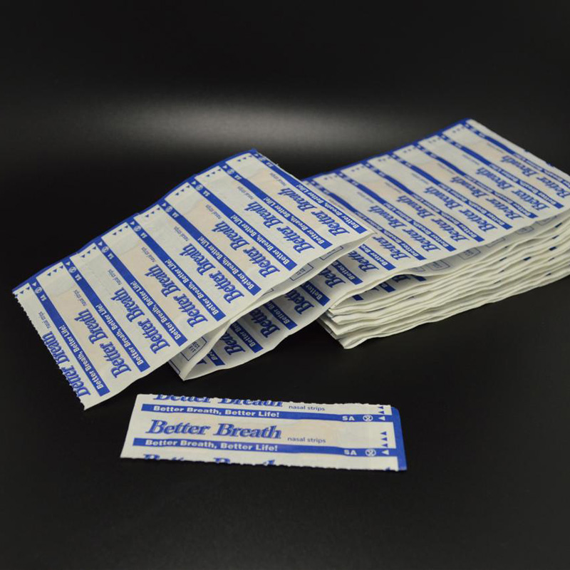 500 pcs STOP SNORING Breathe Right Nasal Strips Anti Snoring Strips Sleep & Snoring Nasal Strips Sleep Better Health Care