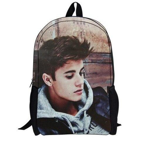 Купить рюкзак с джастином бибером купить рюкзак для ноутбука с широким дисп
