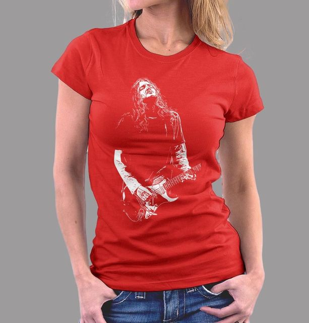 761ed8659 John Frusciante Red Hot Chili Peppers Ladies Fitted T-shirt Women