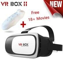 2016 CAJA de cartón VR VR Realidad Virtual Gafas 3D Google II 2.0 Para 4.0-6.0 pulgadas Smartphone Para iPhone Samsung etc.