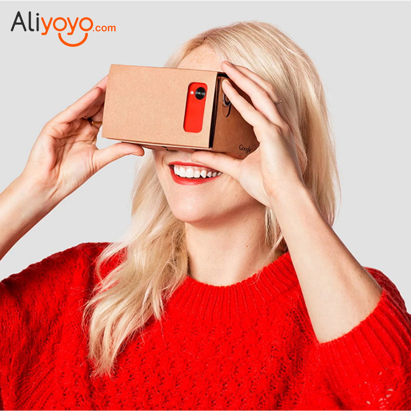 DIY Google Cardboard font b VR b font Virtual Reality Box 3D Glasses Viewing Glasses For