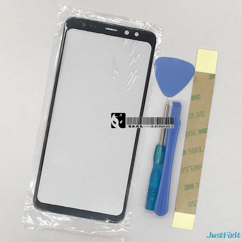 SAMSUNG Glass-Lens Replacement Display A530F Front-Glass A730DS Plus for Galaxy A8 title=