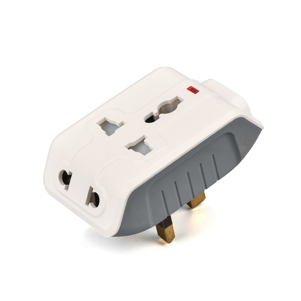 High quality international travel Adapter Universal wall plug travel plug converter AC Outlets 2 USB Ports all in one for UK in Electrical Sockets from Home Improvement