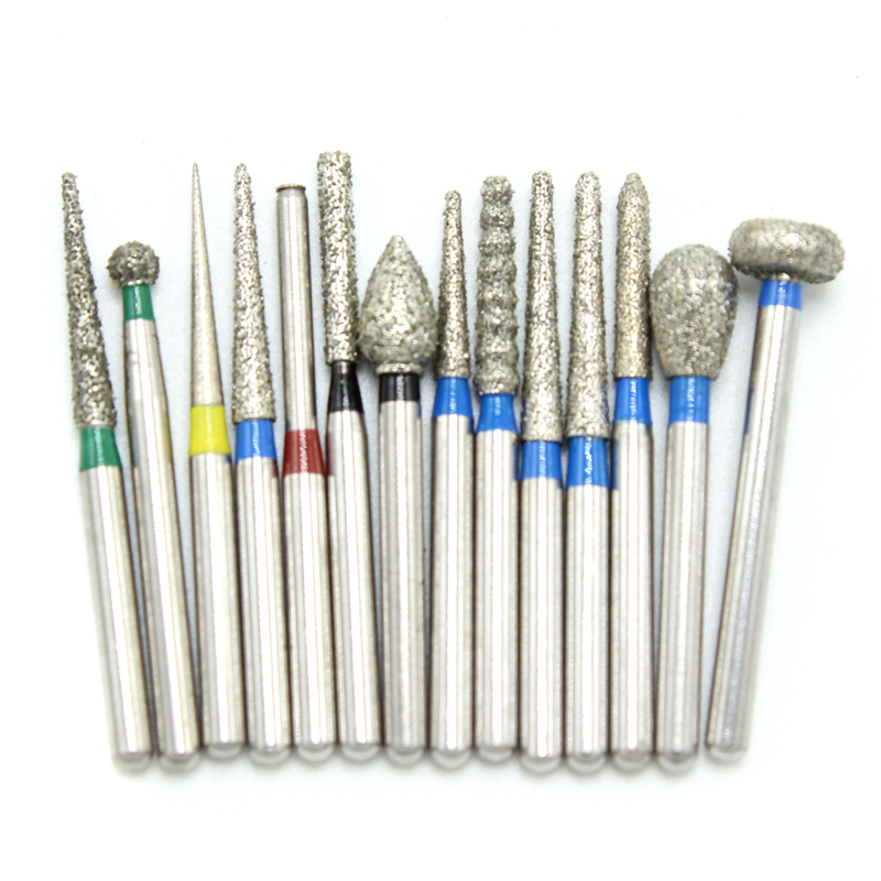 30Pcs/pack Dental Diamond Burs Medium FG 1.6mm For High Speed Handpiece Turbine Dentist Tools Free Shipping