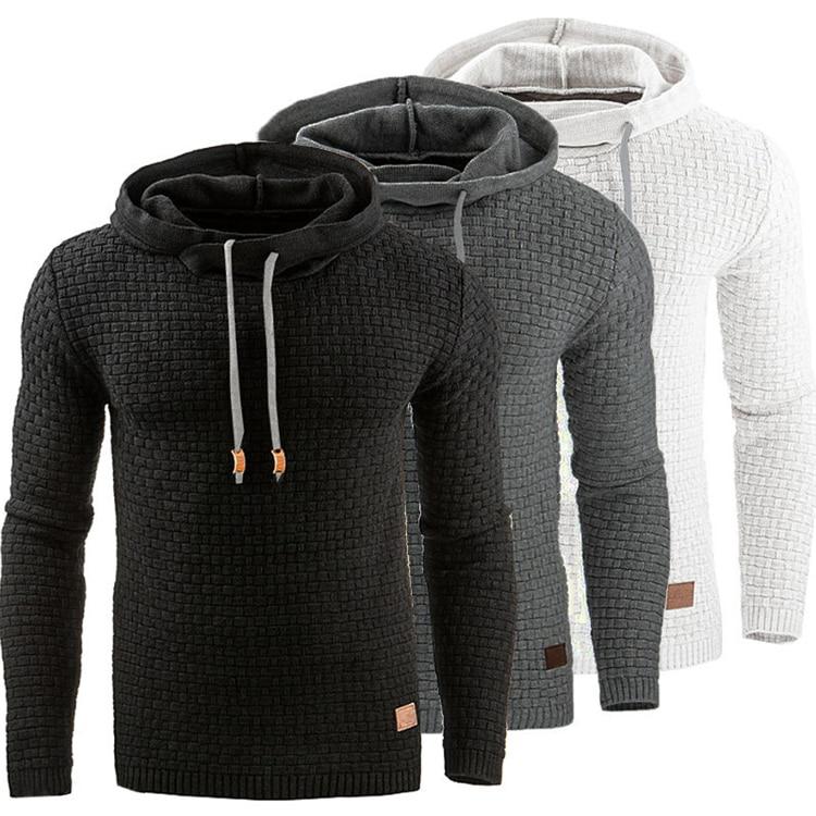 Slim Hooded Sweatshirts Casual Sportswear 4