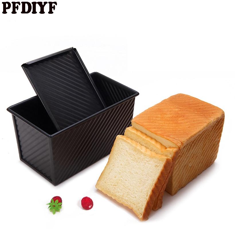 Toast Pan karbon stee Roti Kue Cetakan Kualitas Tinggi non-stick - Dapur, ruang makan, dan bar