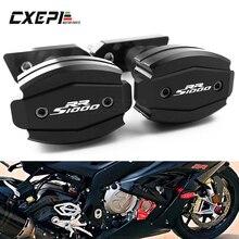 Almohadillas antichoque de protección contra caídas para motocicletas, marco de carenado deslizante, para BMW S1000RR S 1000RR S 1000 RR 2010 2017 2018 2019