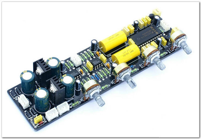 NOVO XD-Placa de Controle de Volume LM4610 com surround 3D Equiloudne
